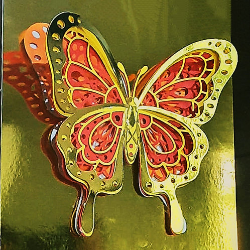 3-D Butterfly Decal
