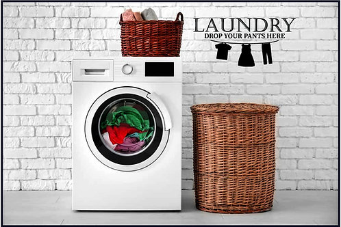 Laundry Decals