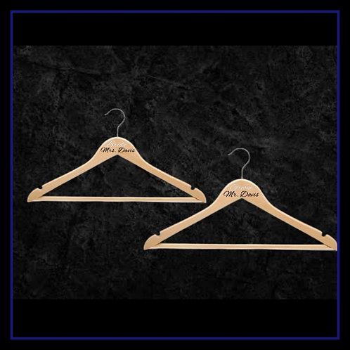 Custom Wooden Hangers