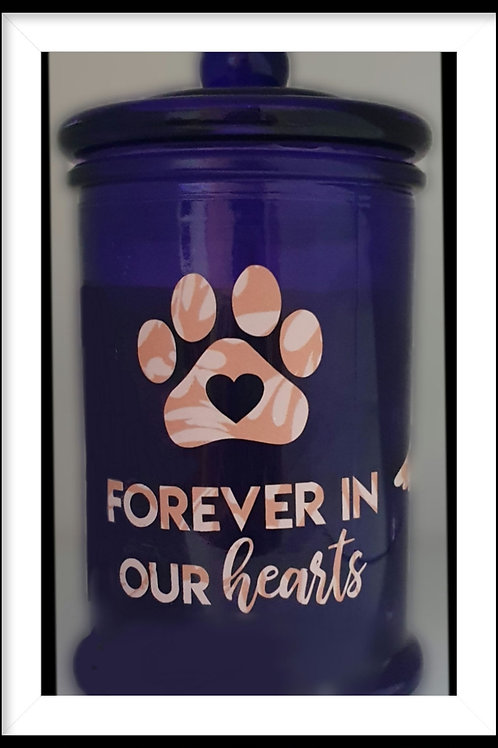 Forever in our hearts - Paws Candle