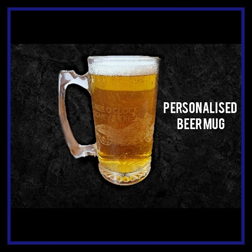 Personalised Beer Mug