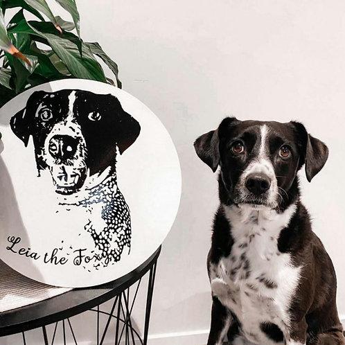 Personalised Pet Plaque