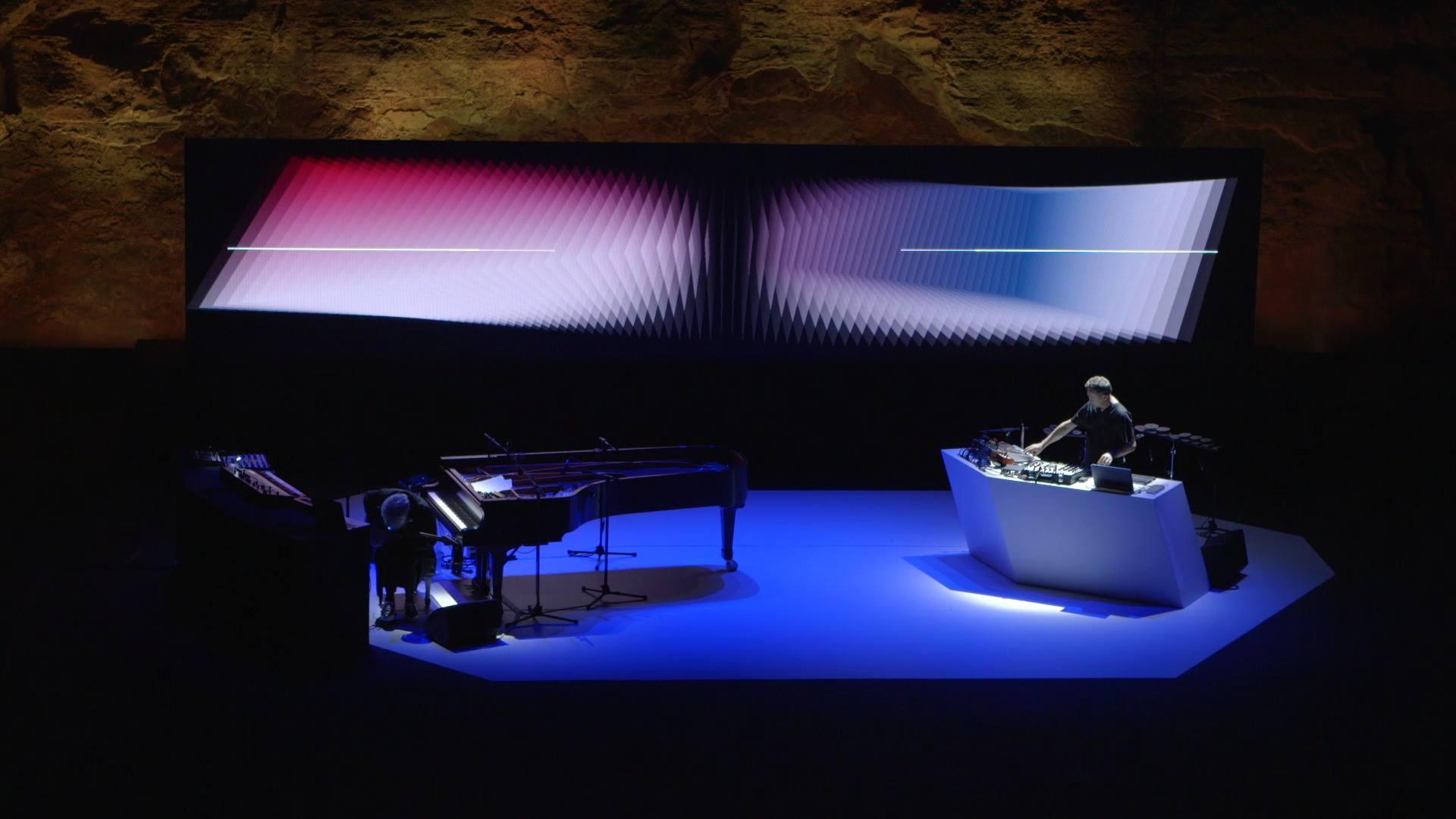 Alva Noto & Ryuichi Sakamoto - TWO Live at Teatre Grec, Sonar 2018