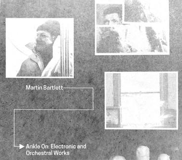 Arc Light Editions | Martin Bartlett - Anecdotal Electronics, LP
