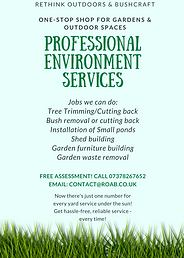 Environmental Services/ Yard Services