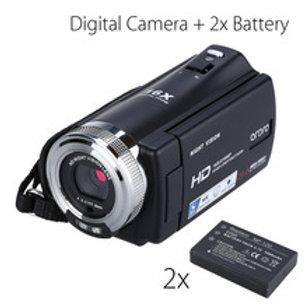 "3.0"" LCD 1080P FHD Digital Camera Camcorder 16x Zoom DVR IR Night Vision CMOS Se"