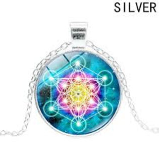 Sacred Flower of Life Pendant Necklace