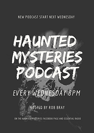 New series of our Haunted Mysteries podcast.