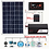 Thumbnail: Solar panel, charge controller and inverter.