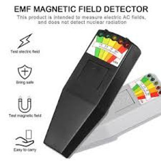 EMF Meter Magnetic Field Detector with 9V Batteries