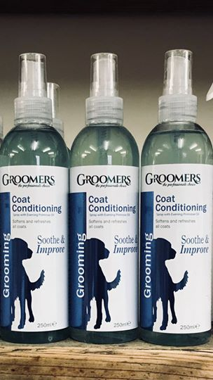 Coat Conditioning Spray £7