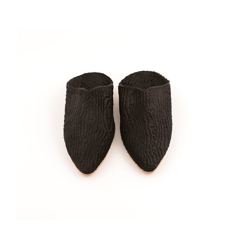 Astracan - Pointed Babouche Slippers