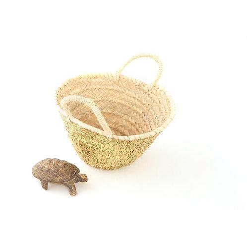 Medio - Sequin Basket - Gold