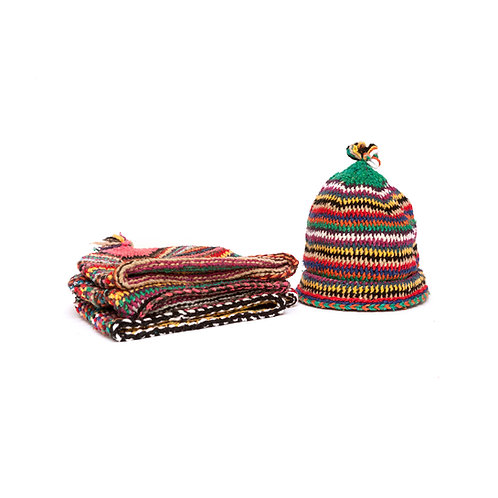 Heidi - Pom Pom Beanie - Assorted colours