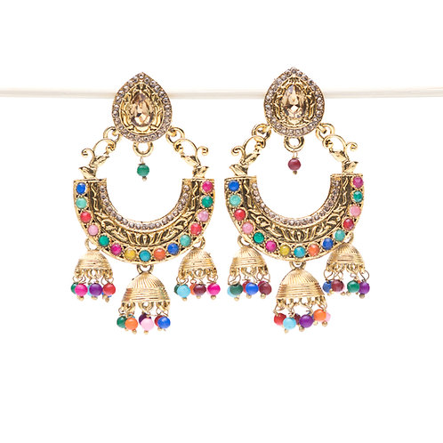 Lampadario - Indian Pendant Earrings