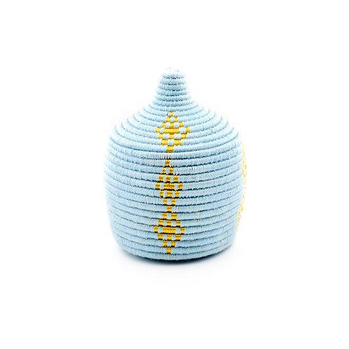 Baby Blue Pagnotta - Berber basket
