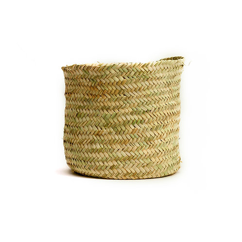 "Cestino 8"" - Straw Basket - Natural"