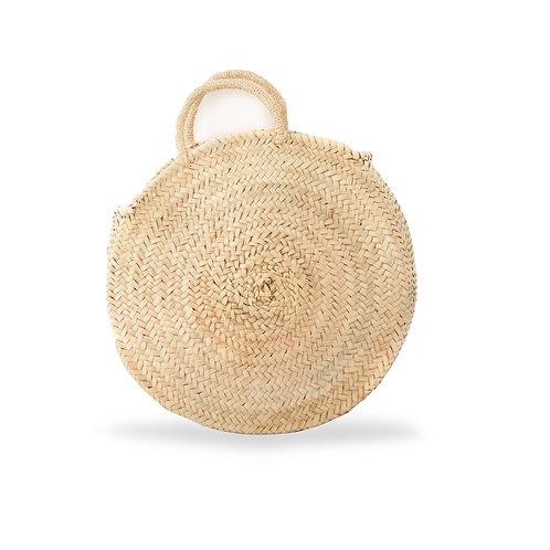 Rotonda - Round straw bag - Natural