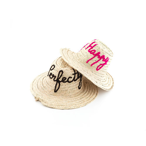 Perfectly Happy - Straw Hat