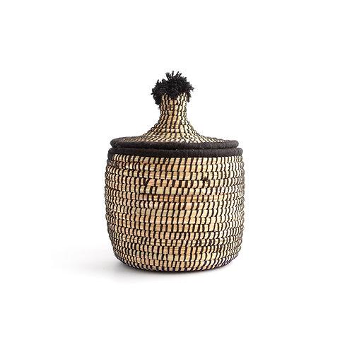 Mono Pagnotta Black - Berber basket large