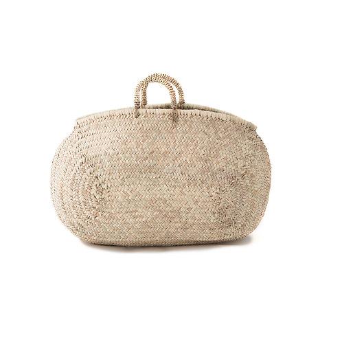Al Mercato - Giant straw market bag - Natural