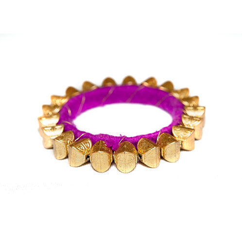 Bikaner - Indian Bangle - Purple