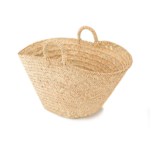 Un classico - Extra large straw market bag - Natural