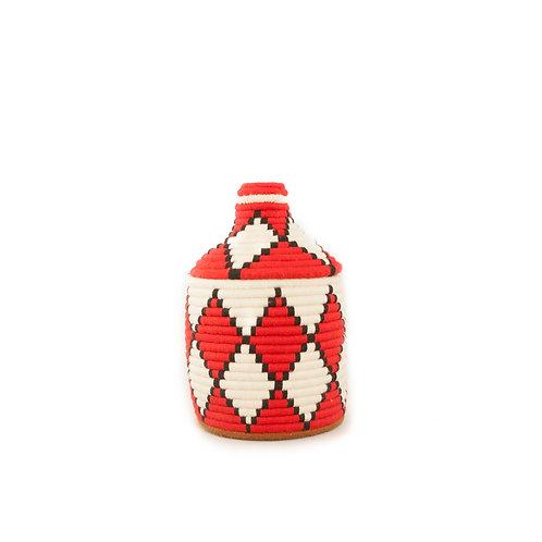 Panino Red and White - Berber basket