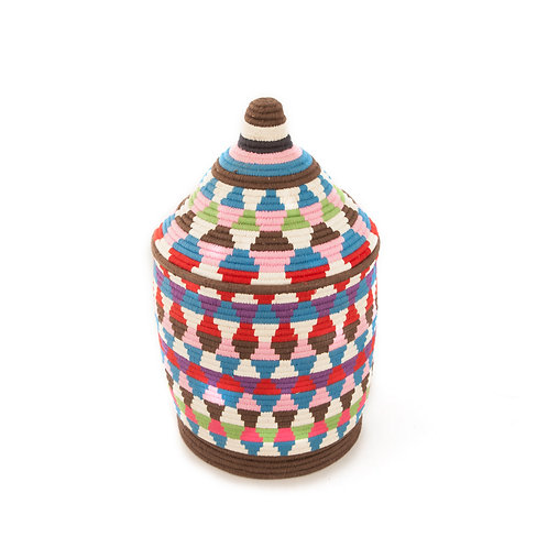 "Panettone Festivo 15"" - Berber basket large"