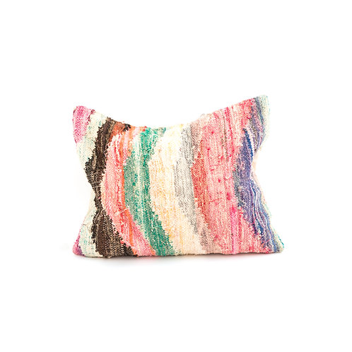 Boucherouite 2 - Reclaimed Rug Cushion