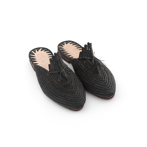 Pantofola - Slip-on Raffia Slippers