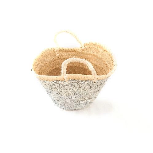 Medio - Sequin Basket - Silver