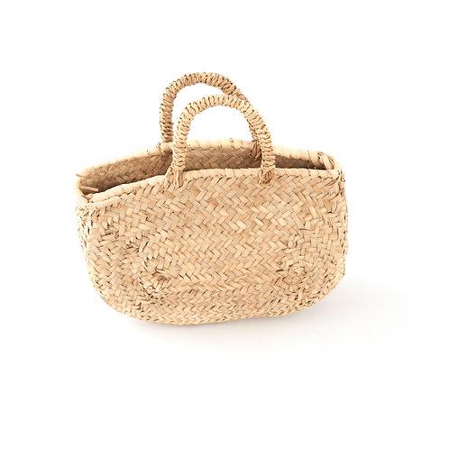 Al mercatino - Mini straw market bag - Natural