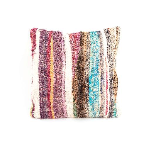 Boucherouite 1 - Reclaimed Rug Cushion