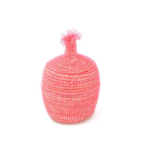 Mono Pagnotta Pink - Berber basket large