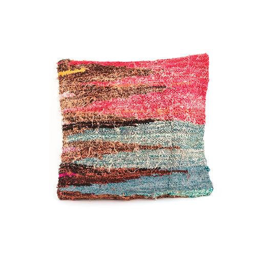 Boucherouite 3 - Reclaimed Rug Cushion
