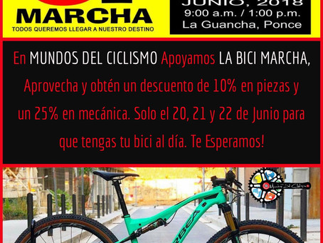 Bici Marcha 18 Ponce