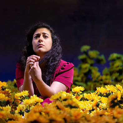 Nadine Malouf in YERMA_Photo by T Charle