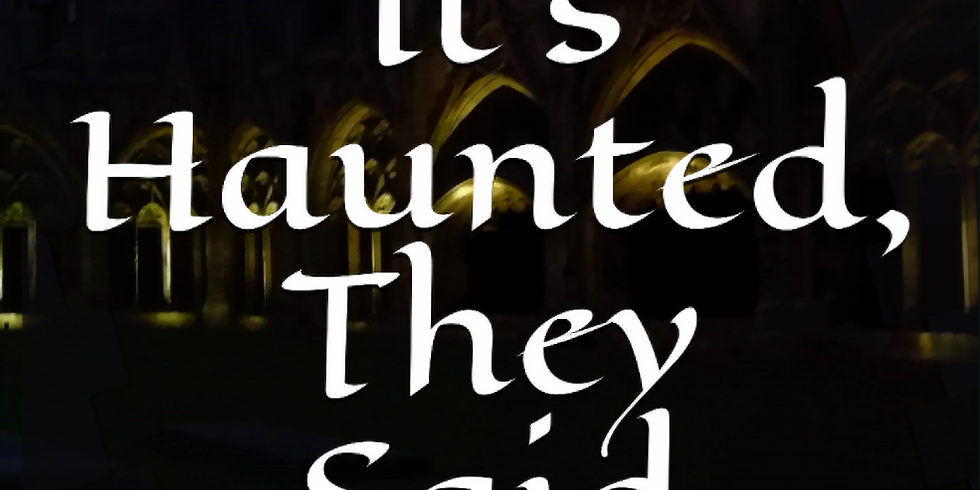 Book Release : It's Haunted, They Said