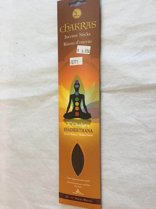 Encens Chakra Sacré