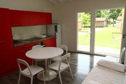 Chalet HQE 45m² cuisine