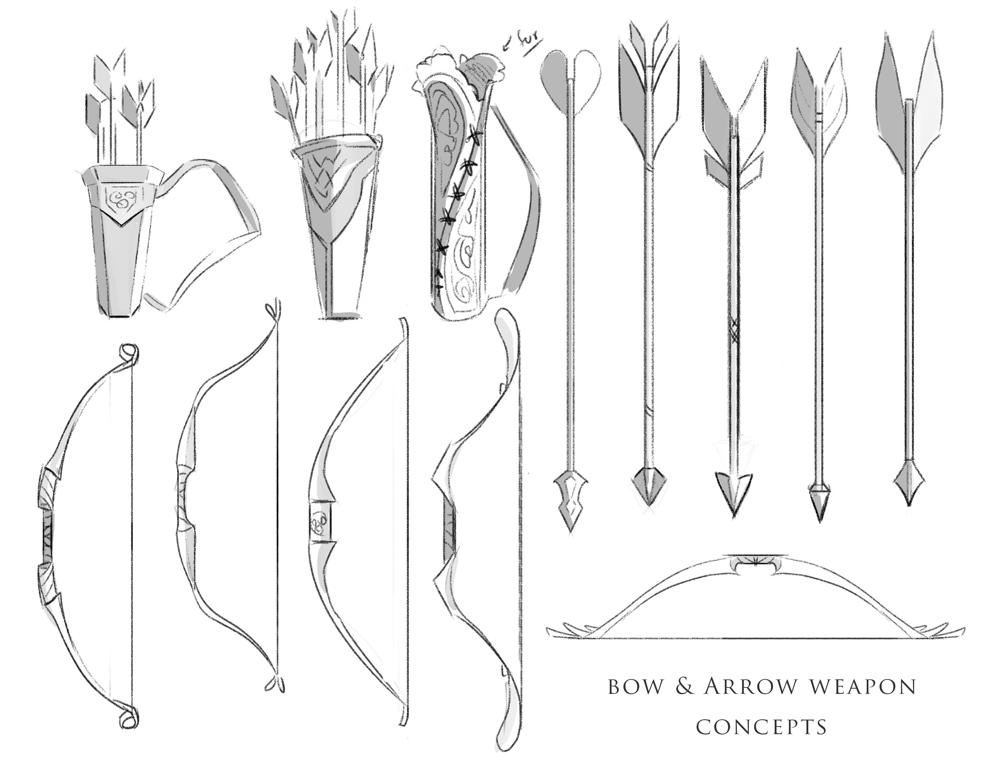 Bow and Arrow Concept Design