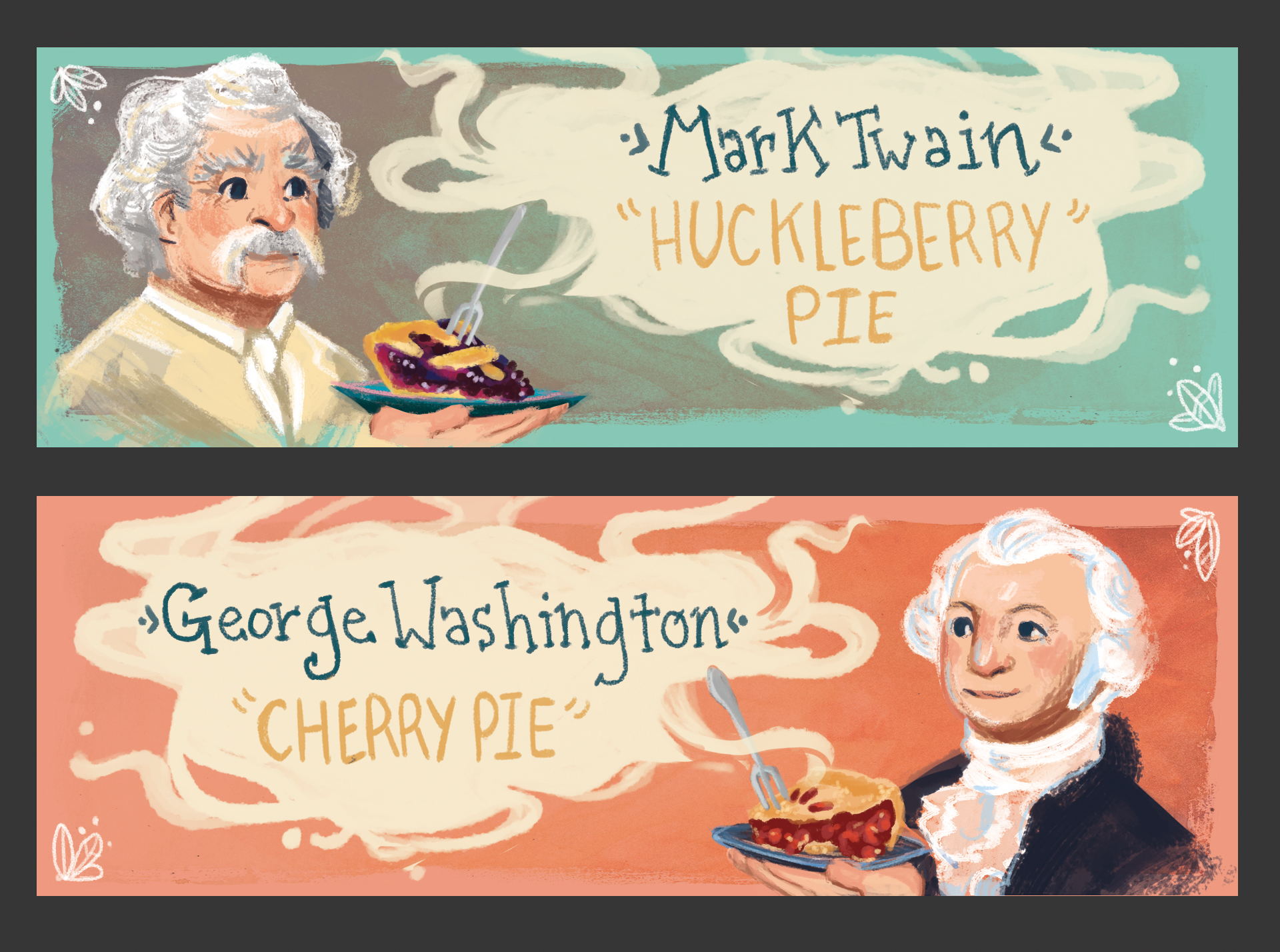 pie portrait labels