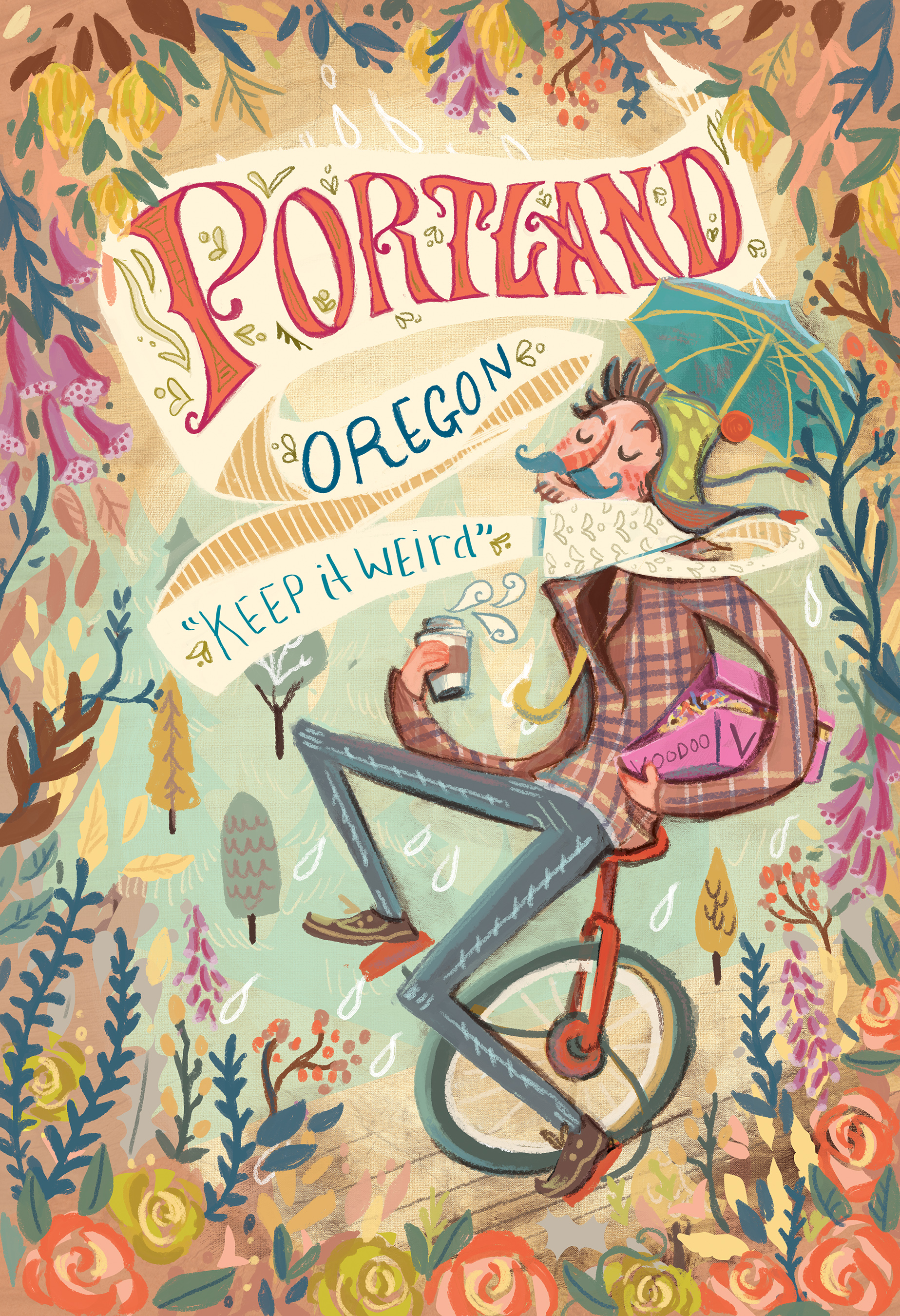 portland promo poster