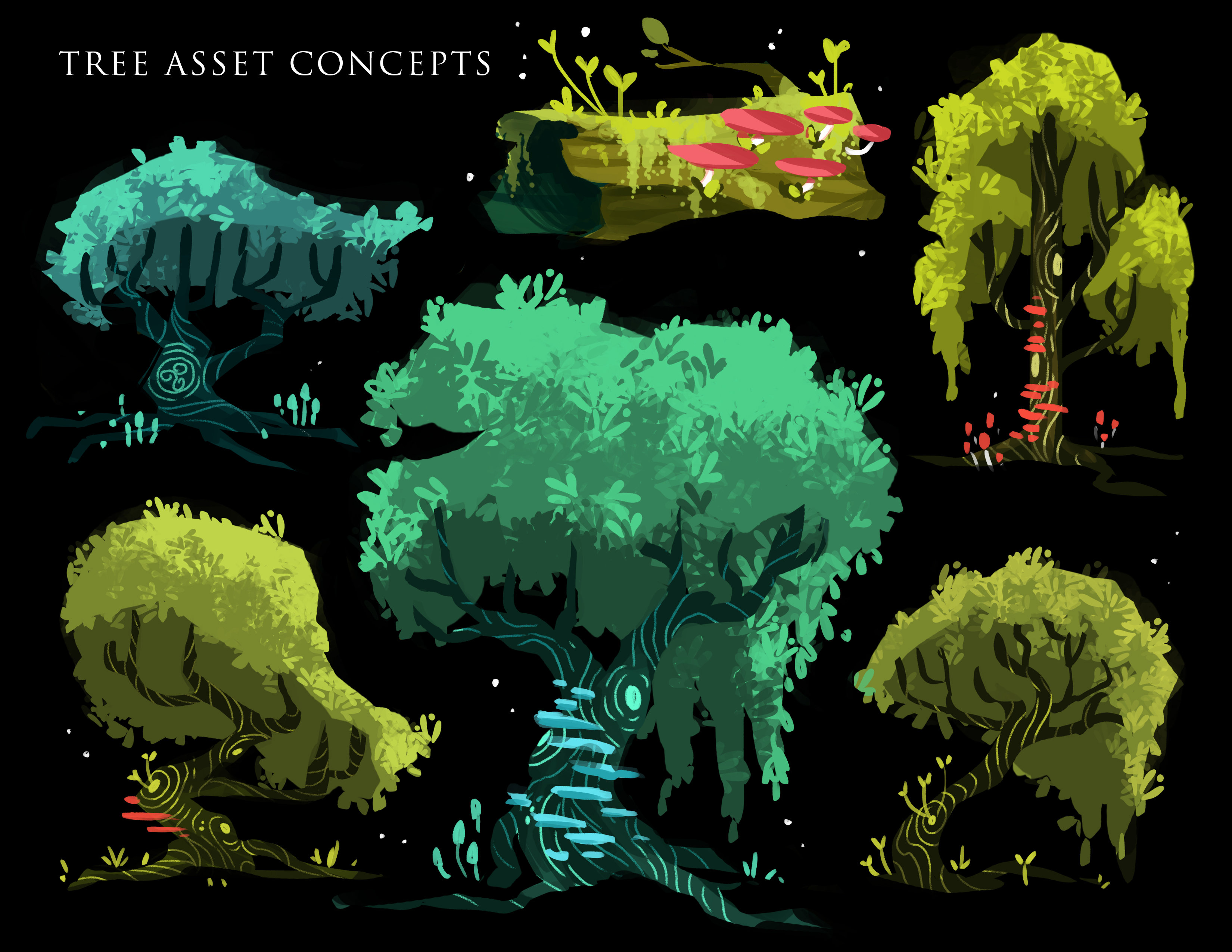 tree asset concepts