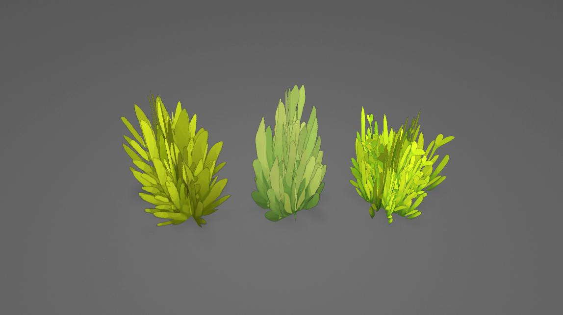 Final Grass models