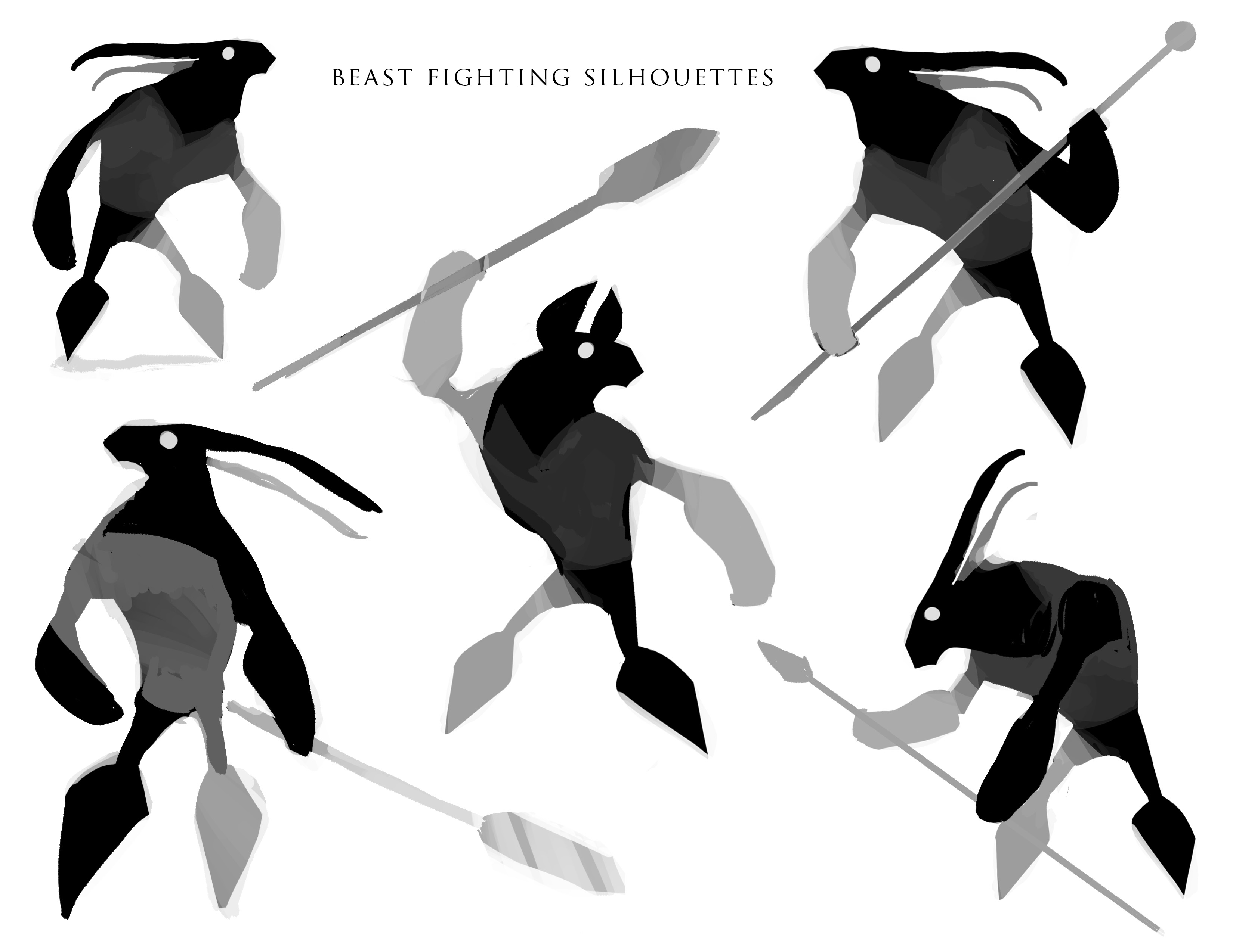 Beast fighting concepts
