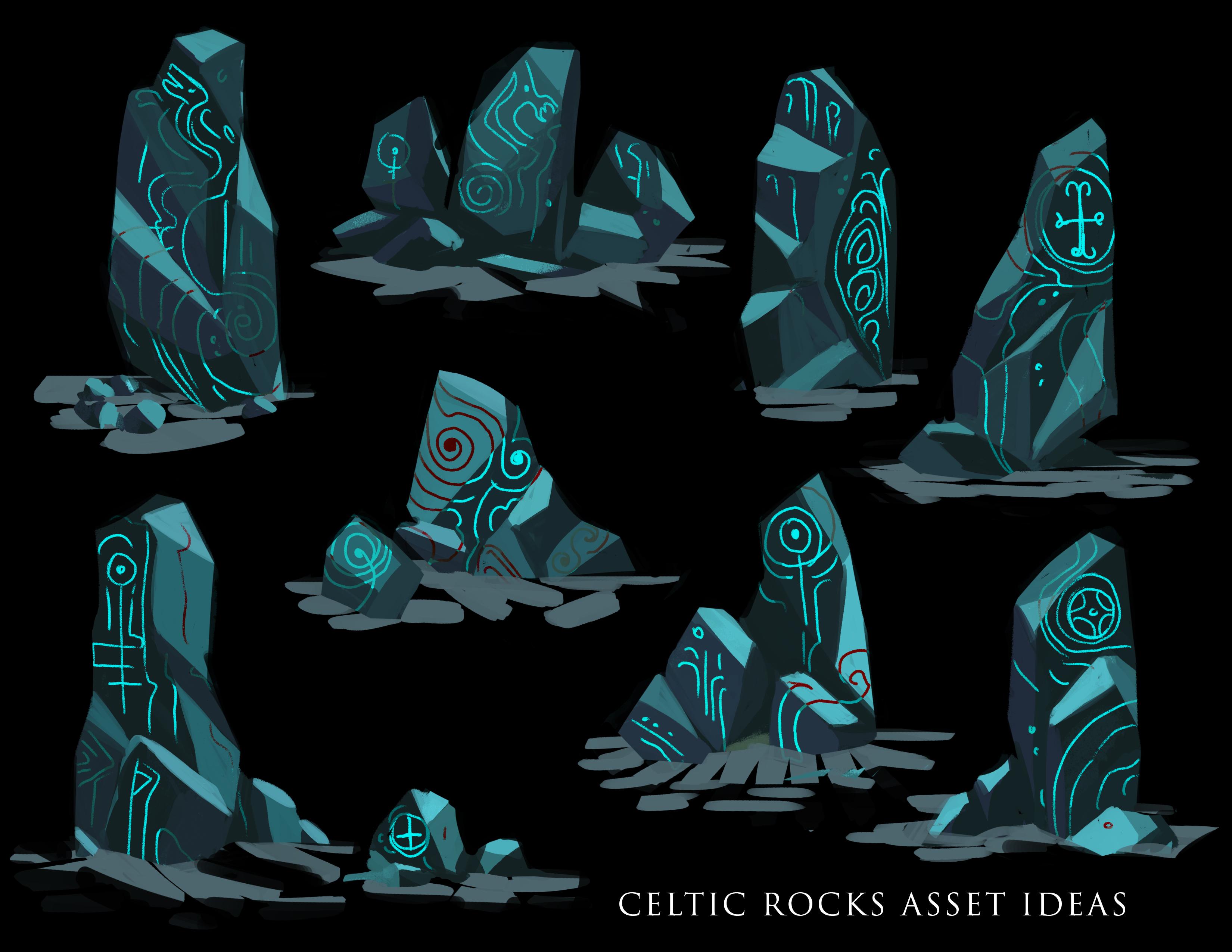 celtic rock asset concepts