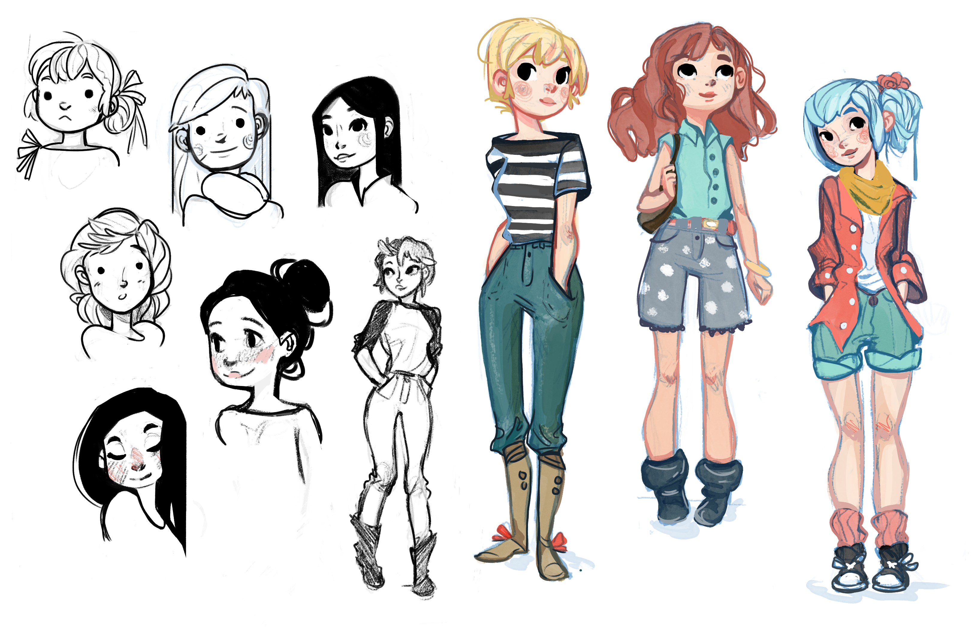 Young girls designs