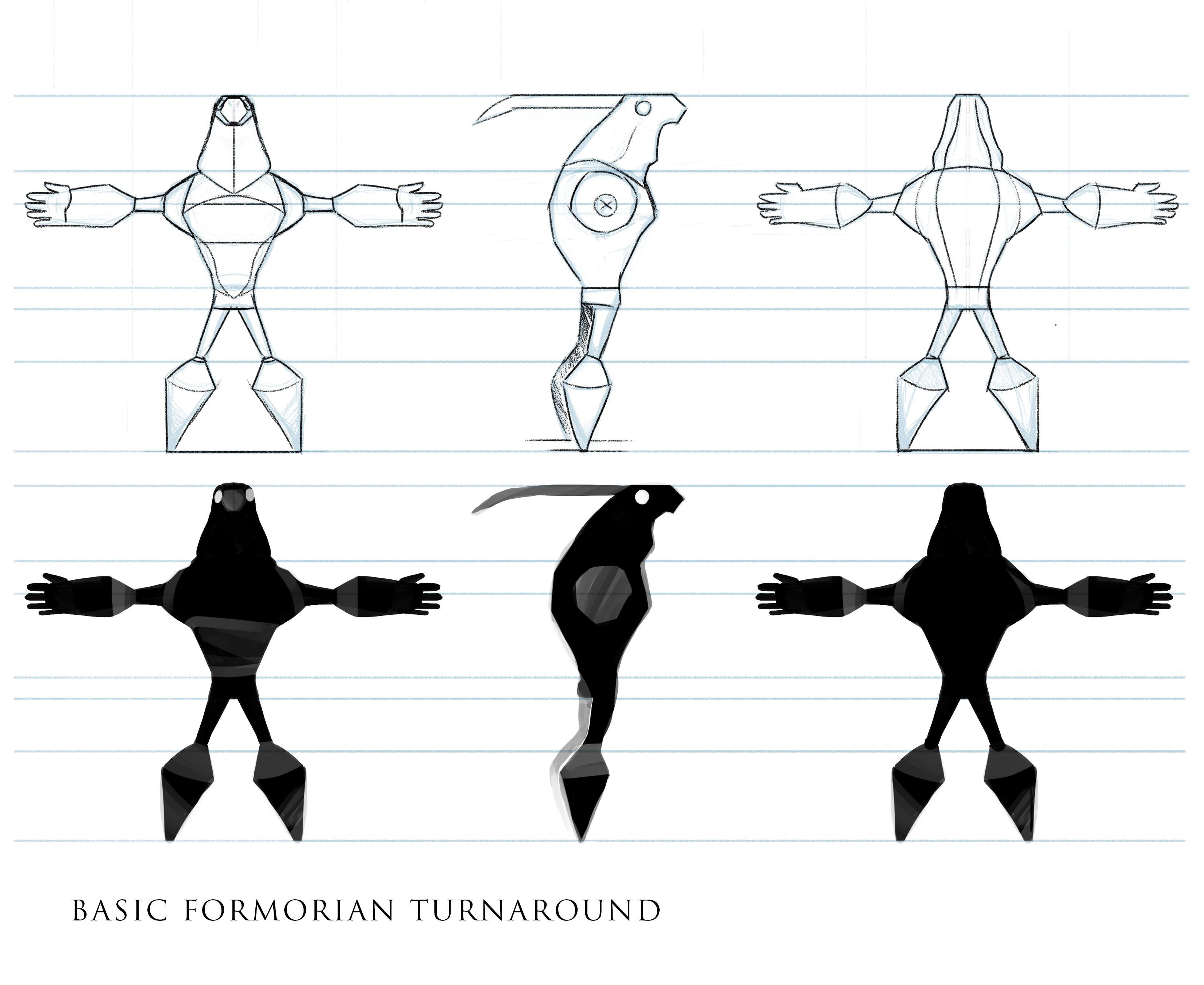 Final Formorian turnaround